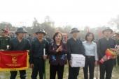 Chủ tịch HĐND TP Nguyễn Thị Bích Ngọc dự lễ giao quân huyện Ứng Hòa