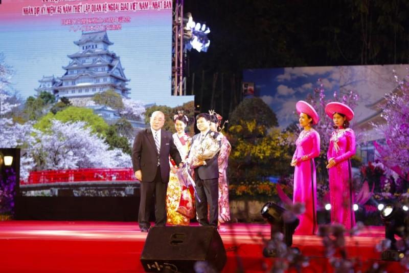 Khai mạc lễ hội giao lưu văn hóa Nhật Bản 2018