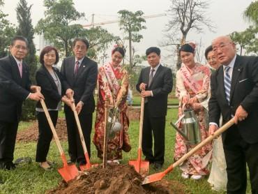 Nhật Bản trao tặng Hà Nội 172 cây hoa anh đào
