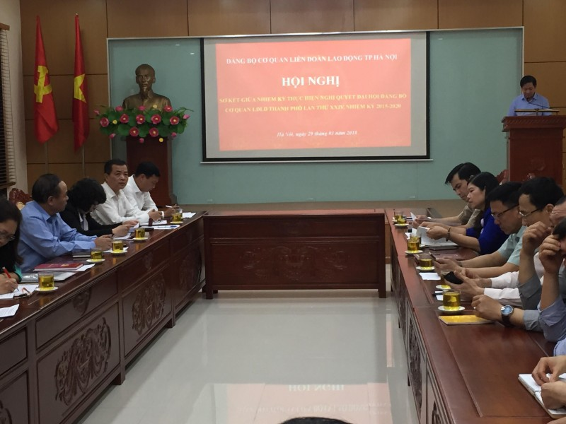 Đảng bộ cơ quan LĐLĐ Thành phố Hà Nội: Đổi mới, chủ động trong công tác lãnh đạo