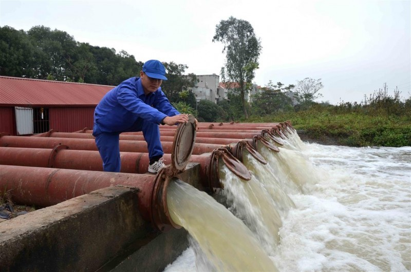 Hà Nội đẩy nhanh tiến độ hoàn thành các dự án cấp nước sạch nông thôn