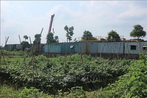 Xử lý nghiêm vi phạm về đất đai, kinh tế tại xã Song Phương, huyện Hoài Đức