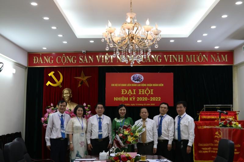 LĐLĐ quận Hoàn Kiếm: Tổ chức thành công Đại hội chi bộ cơ quan nhiệm kỳ 2020-2022
