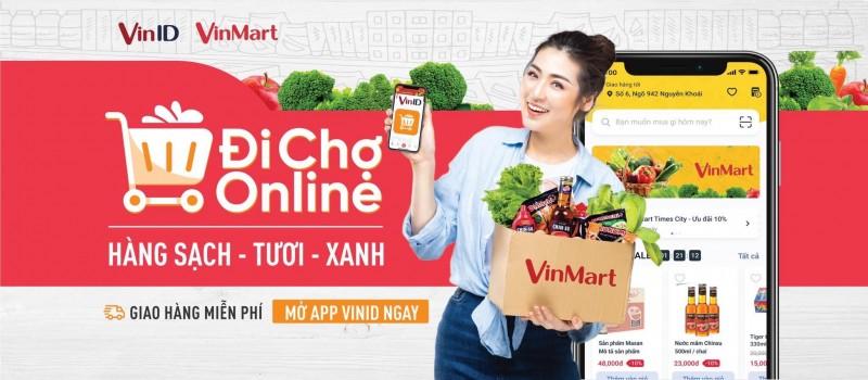 """""""Đi chợ"""" tại gia bằng app VinID, chẳng lo Covid-19"""