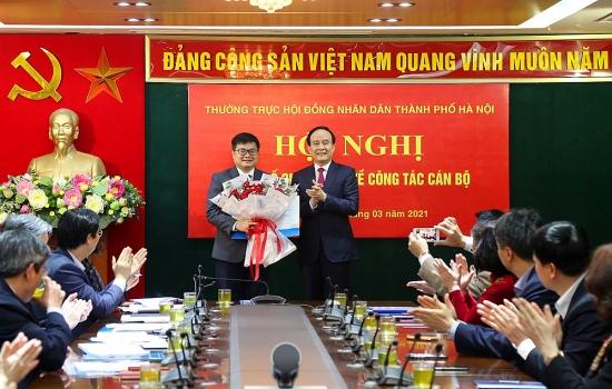 Đồng chí Trương Việt Dũng giữ chức Chánh Văn phòng Đoàn đại biểu Quốc hội và Hội đồng nhân dân thành phố Hà Nội