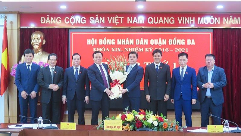 Ông Lê Tuấn Định giữ chức Chủ tịch Uỷ ban nhân dân quận Đống Đa