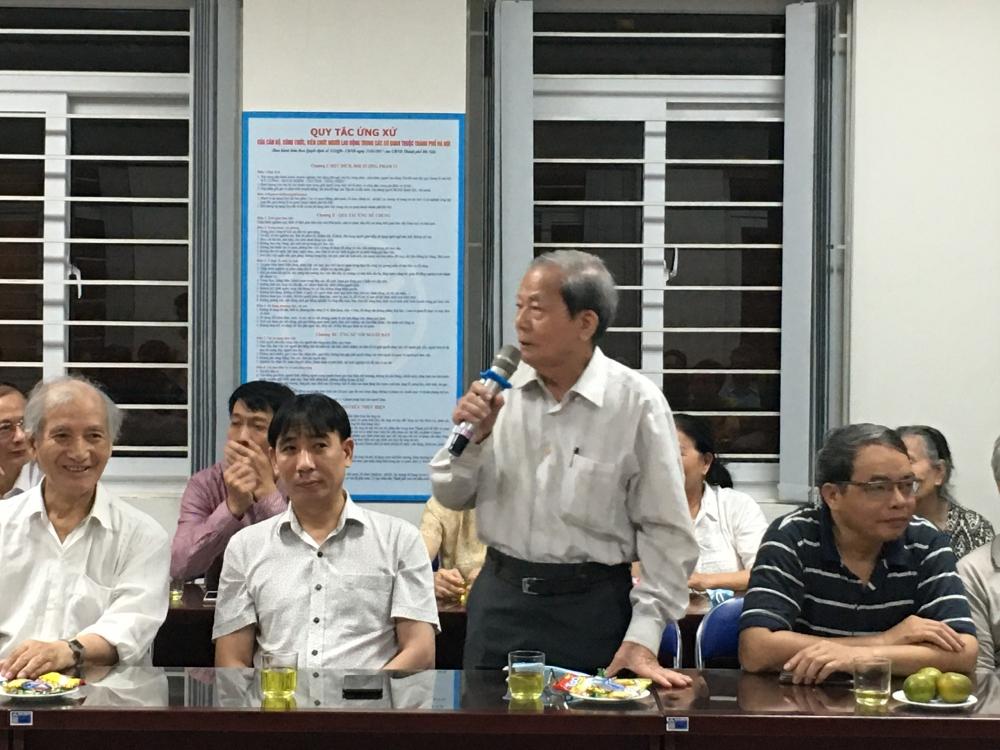 1005 cử tri nơi cư trú nhất trí giới thiệu ông Nguyễn Ngọc Tuấn ứng cử đại biểu Quốc hội khóa XV, Hội đồng nhân dân Thành phố nhiệm kỳ 2021 -2026