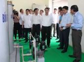 Chủ tịch UBND TP Hà Nội Nguyễn Đức Chung làm việc với huyện Ba Vì