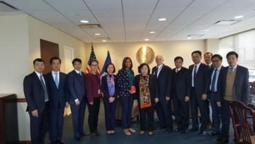 Đoàn đại biểu thành phố Hà Nội thăm và làm việc tại Washington DC và NewYork -Hoa Kỳ