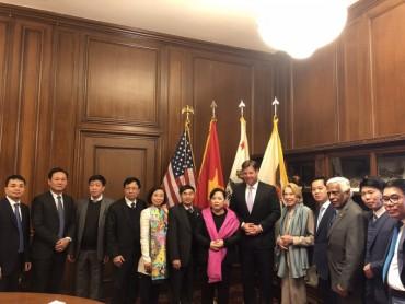 Đoàn công tác thành phố Hà Nội kết thúc chuyến thăm và làm việc tại Hoa Kỳ