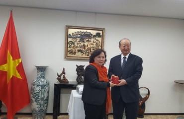 Đoàn công tác của Chủ tịch HĐND TP thăm và làm việc tại Nhật Bản