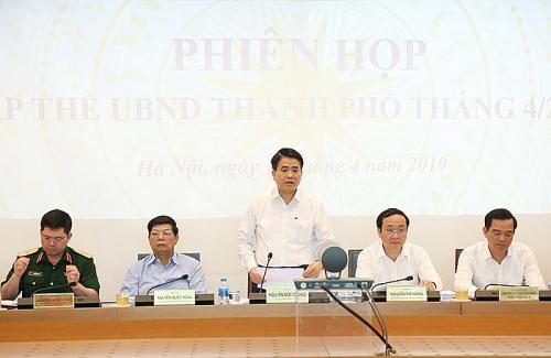 Tập thể UBND Thành phố quyết định 9 nội dung thuộc thẩm quyền
