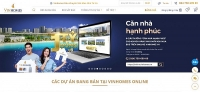 Vinhomes ra mắt dàn giao dịch bất động sản trực tuyến