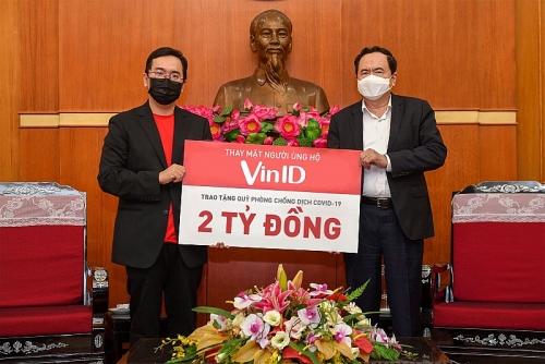 Người dùng VinID ủng hộ 2 tỷ đồng cho Quỹ phòng chống dịch Covid-19