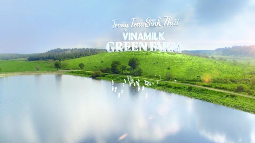 Vinamilk ra mắt Trang trại sinh thái Vinamilk Green Farm thân thiện với môi trường