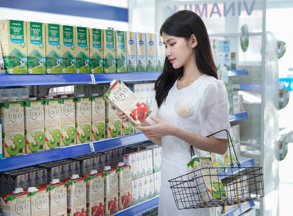 Vinamilk gia tăng trải nghiệm mua sắm cho người tiêu dùng