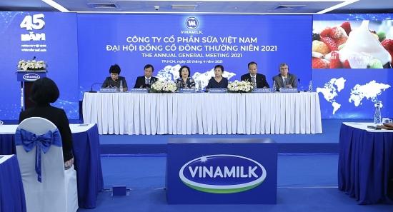Đại hội cổ đông Vinamilk 2021: Luôn tìm cơ hội tốt để đầu tư cả trong và ngoài nước