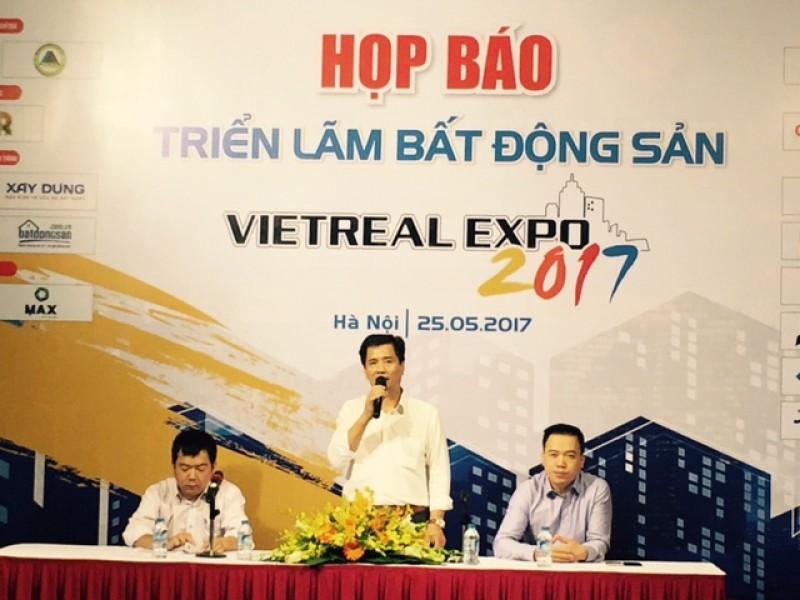 Hơn 200 gian hàng tham gia hội chợ triển lãm bất động sản Việt Nam 2017