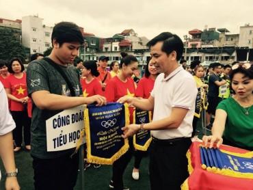 Sôi nổi Hội khoẻ CNVCLĐ và lực lượng vũ trang quận Hoàn Kiếm năm 2018