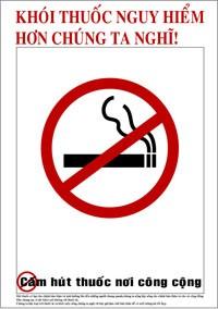 """Đẩy mạnh mô hình """"môi trường không khói thuốc"""""""