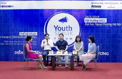 amway viet nam dong hanh cung dien dan tieng noi tre youthspeak 2019 vi muc tieu phat trien ben vung