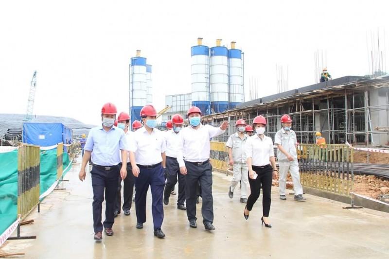 Nhà máy Điện rác Sóc Sơn đã hoàn thành 45% khối lượng công việc