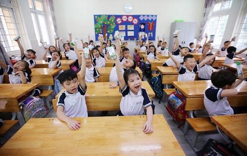 Thành phố Hà Nội ghi nhận những kết quả tích cực của chương trình sữa học đường