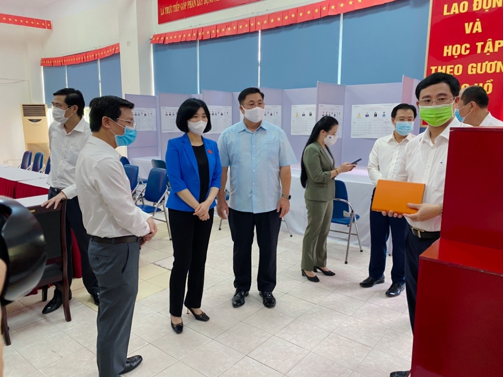 Quận Hoàng Mai: Cả hệ thống chính trị nỗ lực để Ngày bầu cử thực sự là ngày hội của toàn dân