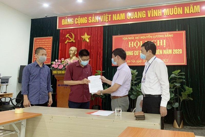 Quận Đống Đa: Dỡ bỏ cách ly y tế tầng 7 tòa nhà 187 Nguyễn Lương Bằng