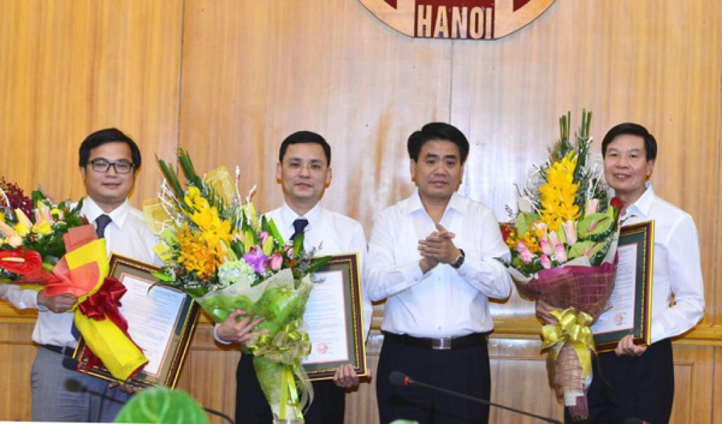 Ông Phạm Quý Tiên nhận nhiệm vụ chánh văn phòng UBND TP Hà Nội