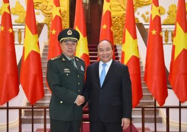 Thủ tướng Nguyễn Xuân Phúc tiếp Phó Chủ tịch Quân ủy Trung ương Trung Quốc