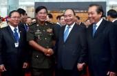 Thủ tướng chủ trì lễ đón Thủ tướng Campuchia Hun Sen thăm Việt Nam