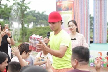 Trà thanh nhiệt Dr Thanh đã dành tặng thiếu nhi một chương trình ý nghĩa