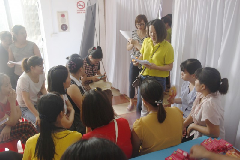 CNLĐ được tiếp cận thông tin chính xác và chủ động chăm sóc sức khỏe bản thân