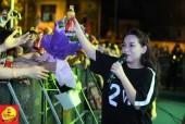 """Phi Nhung khiến giới trẻ Hà Nội """"choáng váng"""" với trang phục trẻ trung hiếm thấy"""