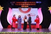 VinMart & VinMart+ nhận giải thưởng Top 100 sản phẩm, dịch vụ tốt nhất