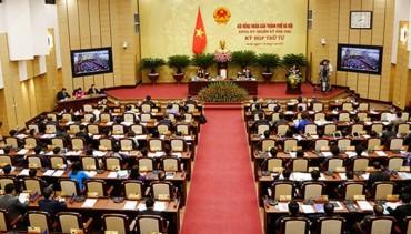 Ngày 5/7/2018 khai mạc kỳ họp thứ 6 HĐND thành phố Hà Nội khóa XV