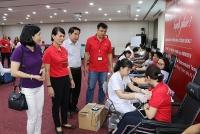 """Công đoàn Ngân hàng TechcomBank tổ chức Ngày hội """" Hiến máu vì cộng đồng"""""""