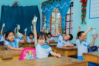 33.000 trẻ em Quảng Nam được uống sữa miễn phí nhờ sữa học đường