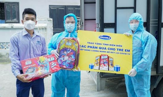 Quỹ sữa Vươn cao Việt Nam kịp thời đến với trẻ em Điện Biên trong mùa dịch