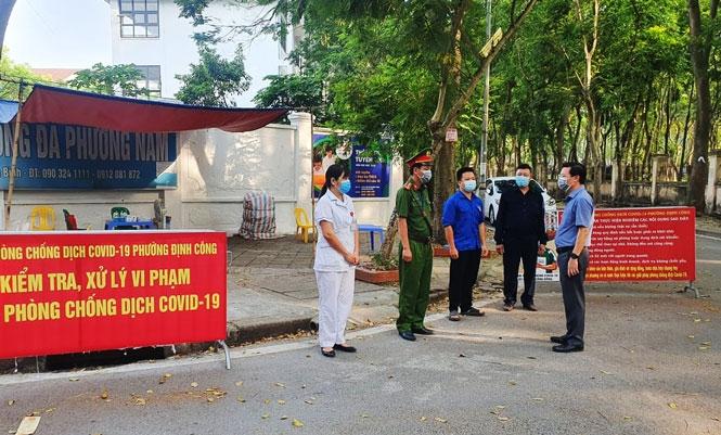 Thành lập Tổ công tác của Ban Chỉ đạo phòng, chống dịch Covid-19 thành phố Hà Nội phụ trách theo địa bàn quận, huyện