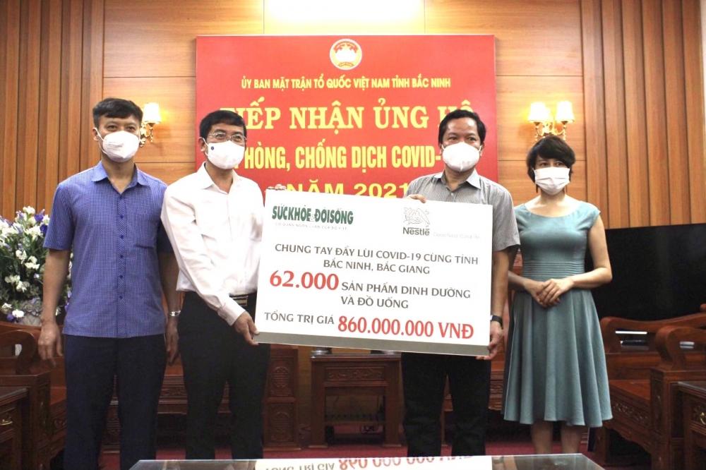 Nestlé Việt Nam ủng hộ Quỹ vắc-xin phòng, chống Covid-19