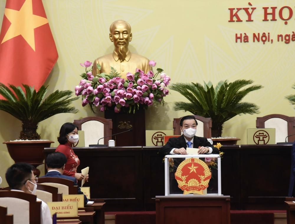 Đồng chí Chu Ngọc Anh tái đắc cử Chủ tịch Ủy ban nhân dân thành phố Hà Nội