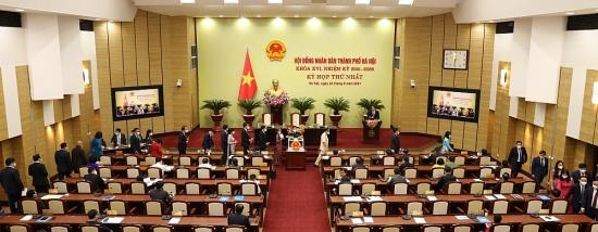 6 Phó Chủ tịch Ủy ban nhân dân thành phố Hà Nội khoá XVI