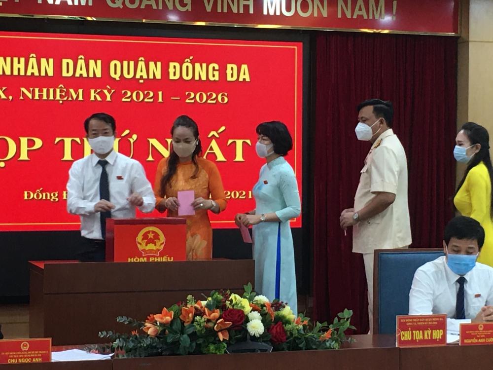 Ông Nguyễn Anh Cường tiếp tục giữ  chức Chủ tịch Hội đồng nhân dân quận Đống Đa
