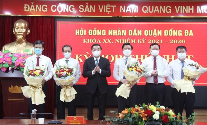 Ông Lê Tuấn Định tái đắc cử chức danh Chủ tịch Ủy ban nhân dân quận Đống Đa