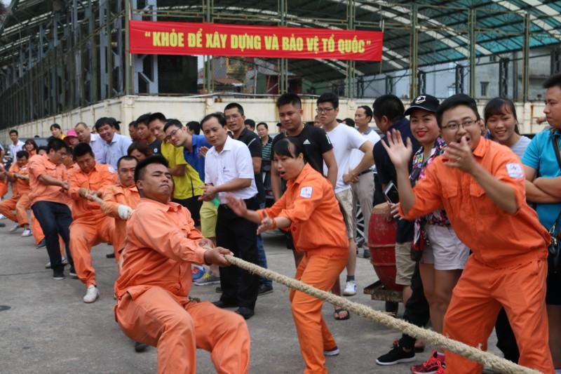 300 VĐV tham gia đại hội Thể dục thể thao Cụm VHTT Hồ Gươm