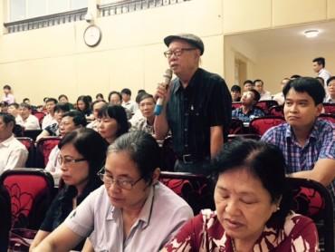 Đại biểu HĐND TP tiếp xúc cử tri quận Thanh Xuân