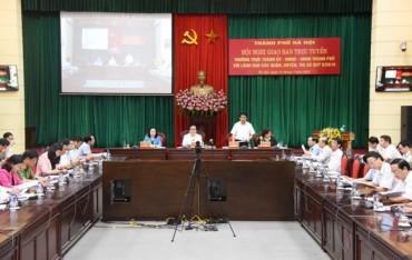 21 công trình trọng điểm của Hà Nội đang chậm tiến độ