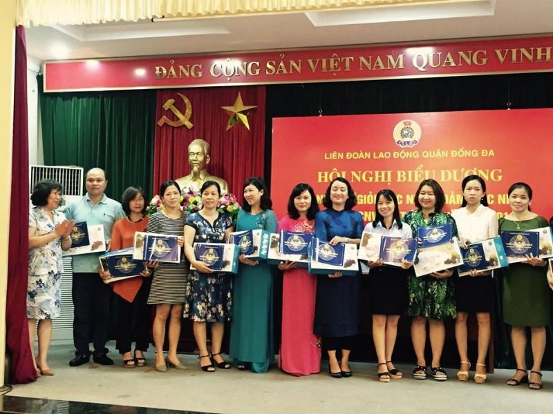 LĐLĐ quận Đống Đa đẩy mạnh các phong trào thi đua trong nữ CNVCLĐ